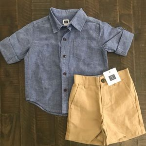 New Janie and Jack Baby Boys Outfit